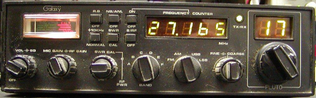 Police Radio Mic >> Galaxy Radio model Pluto